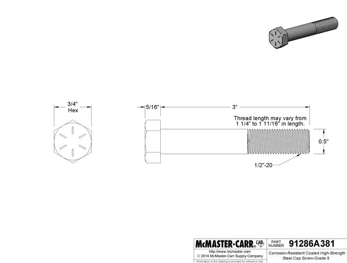 me3253inchbolt